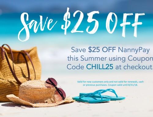 Summer Savings $25 OFF